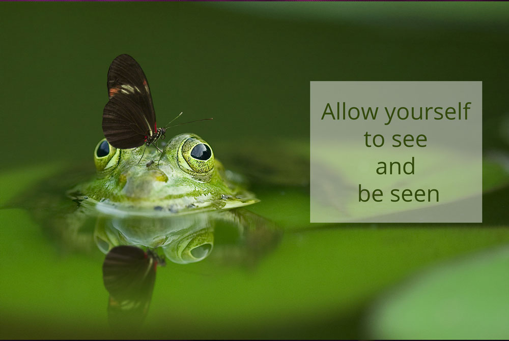 quote frog be seen 1000px